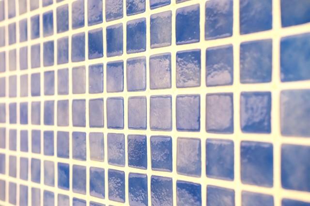 お風呂場のタイルの写真