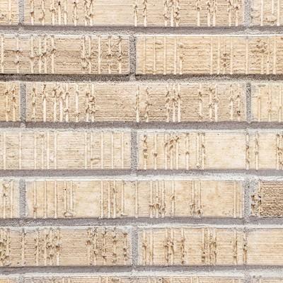 「新築の外壁タイル(テクスチャー)」の写真素材