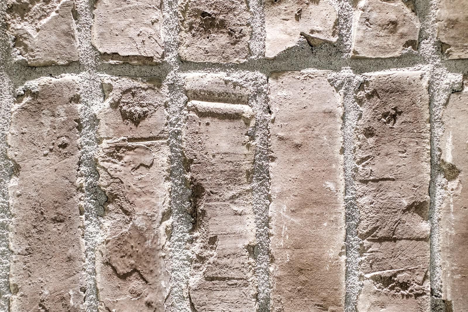 「粗い塗りの外壁タイル」の写真