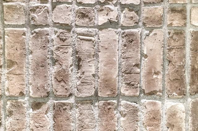 粗い外壁タイル(エイジング)の写真