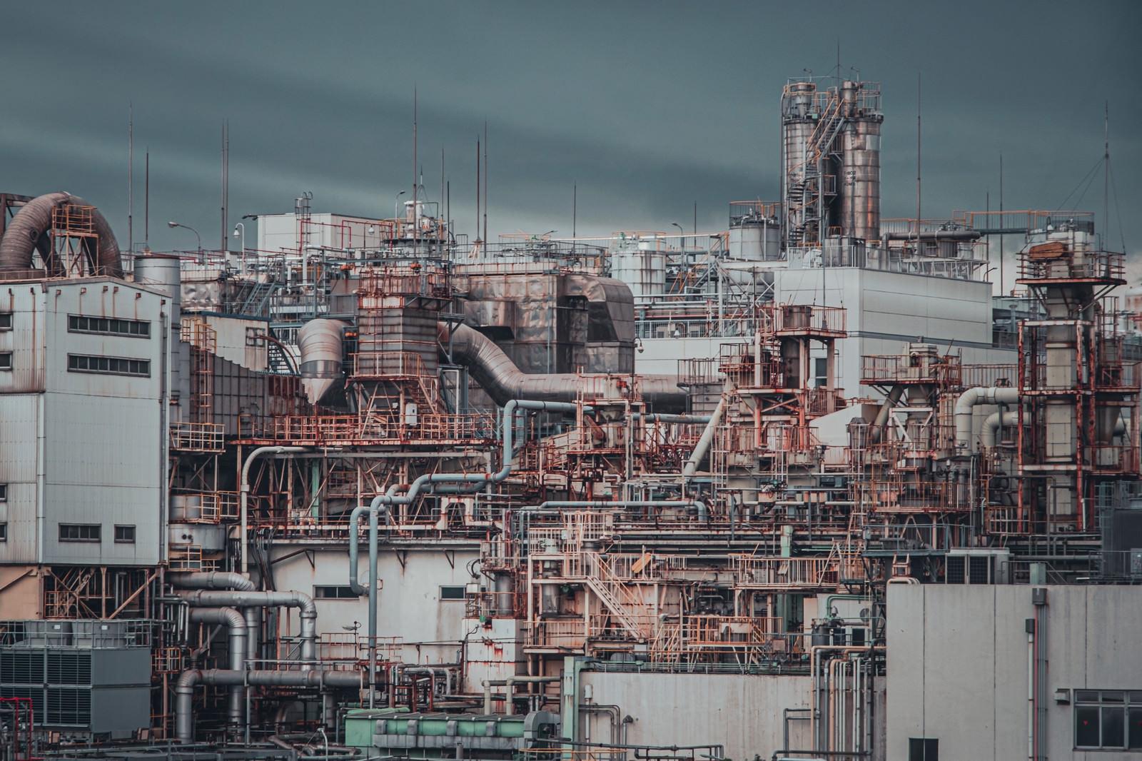 「工場の様子」の写真
