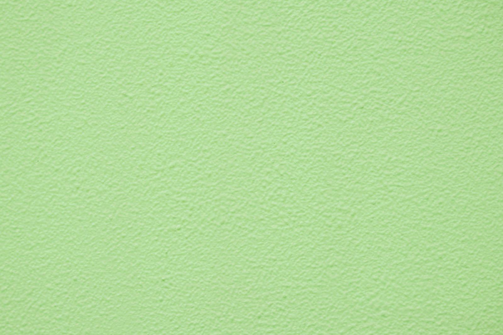 「淡い緑色の外壁(テクスチャ)」の写真