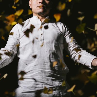 この落ち葉が札束に変わる日も近いですよの写真