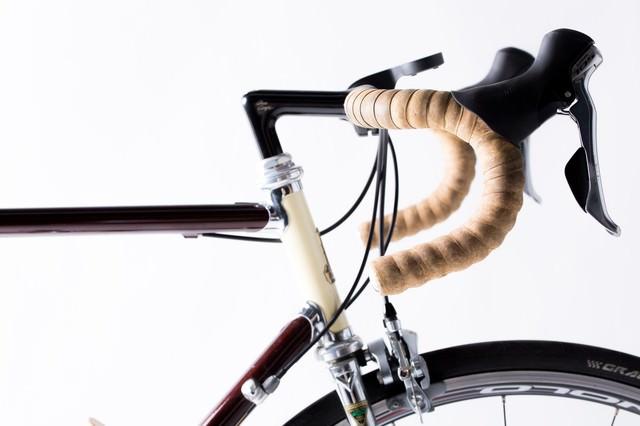 ロードバイクといえばやっぱりドロップハンドルの写真