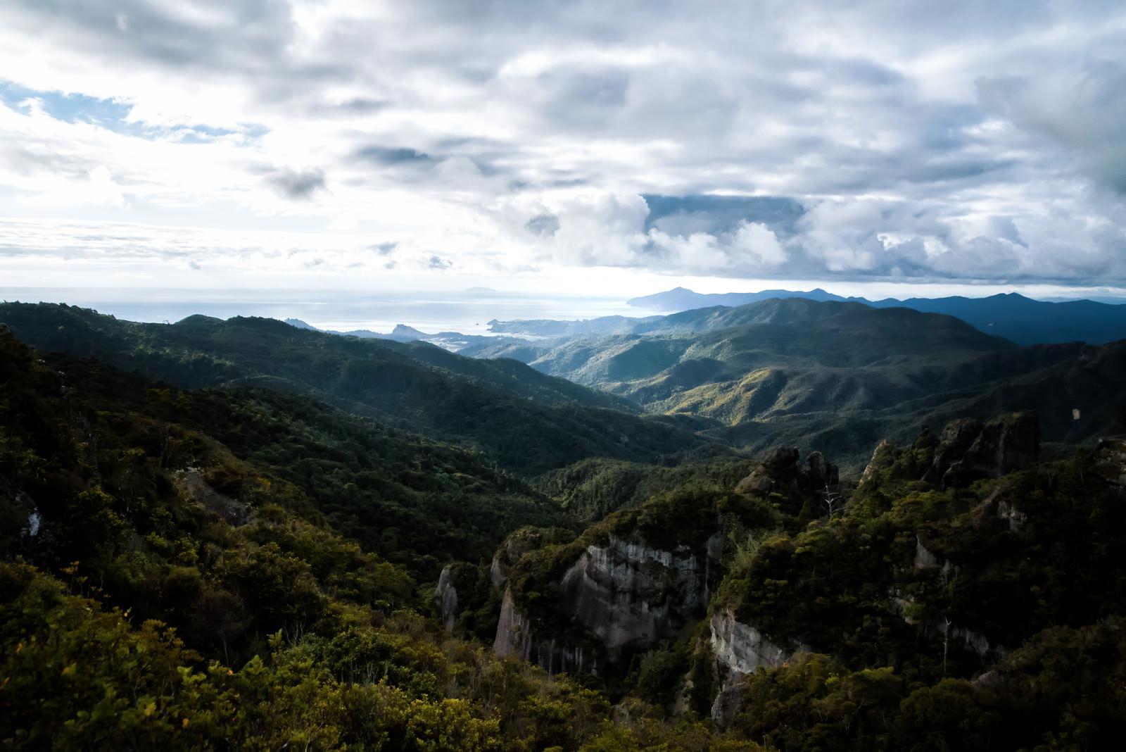 「アオテアトレックの大展望(ニュージーランド)」の写真