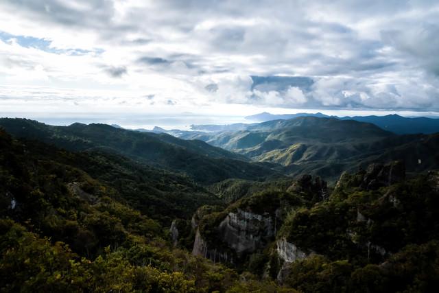 アオテアトレックの大展望(ニュージーランド)の写真