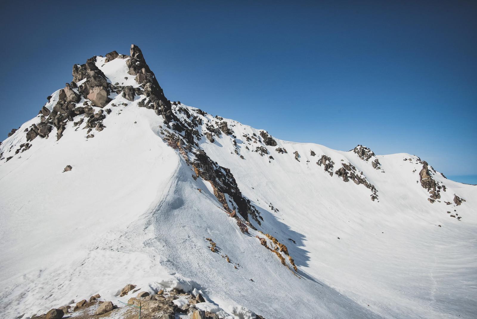 「焼岳南峰(北アルプス)」の写真