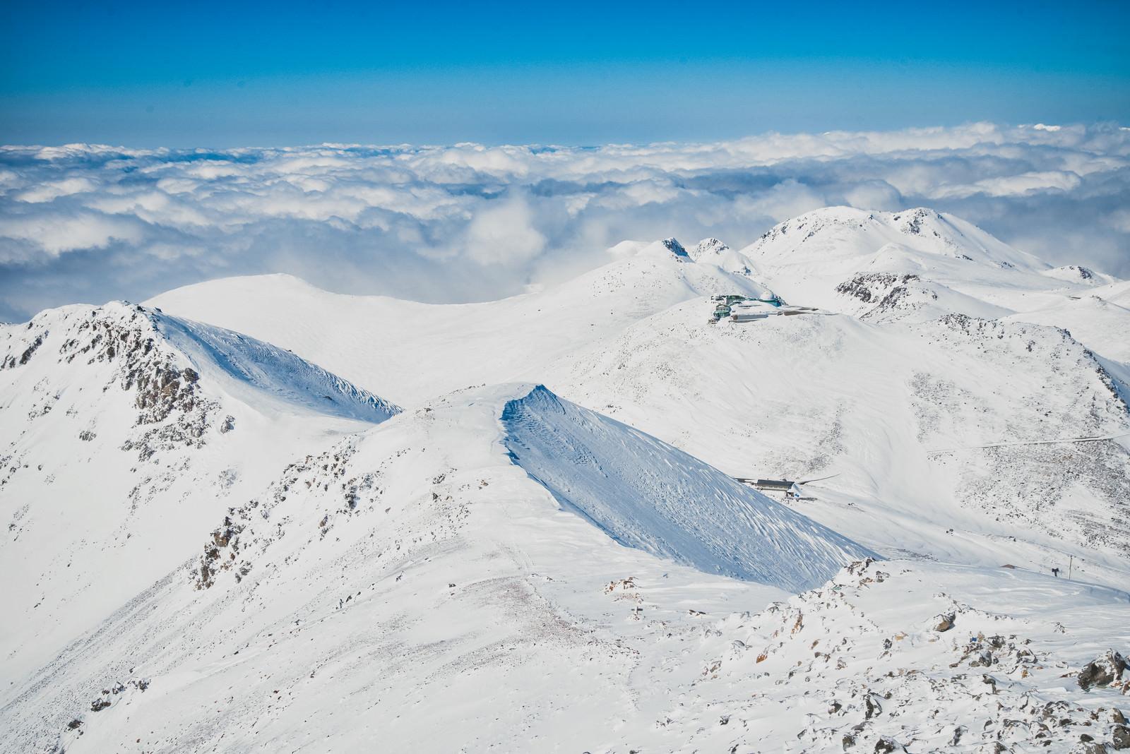 「剣ヶ峰山頂の絶景」の写真