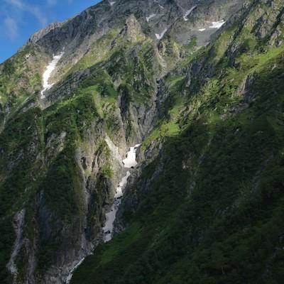 滝沢断崖の存在感の写真
