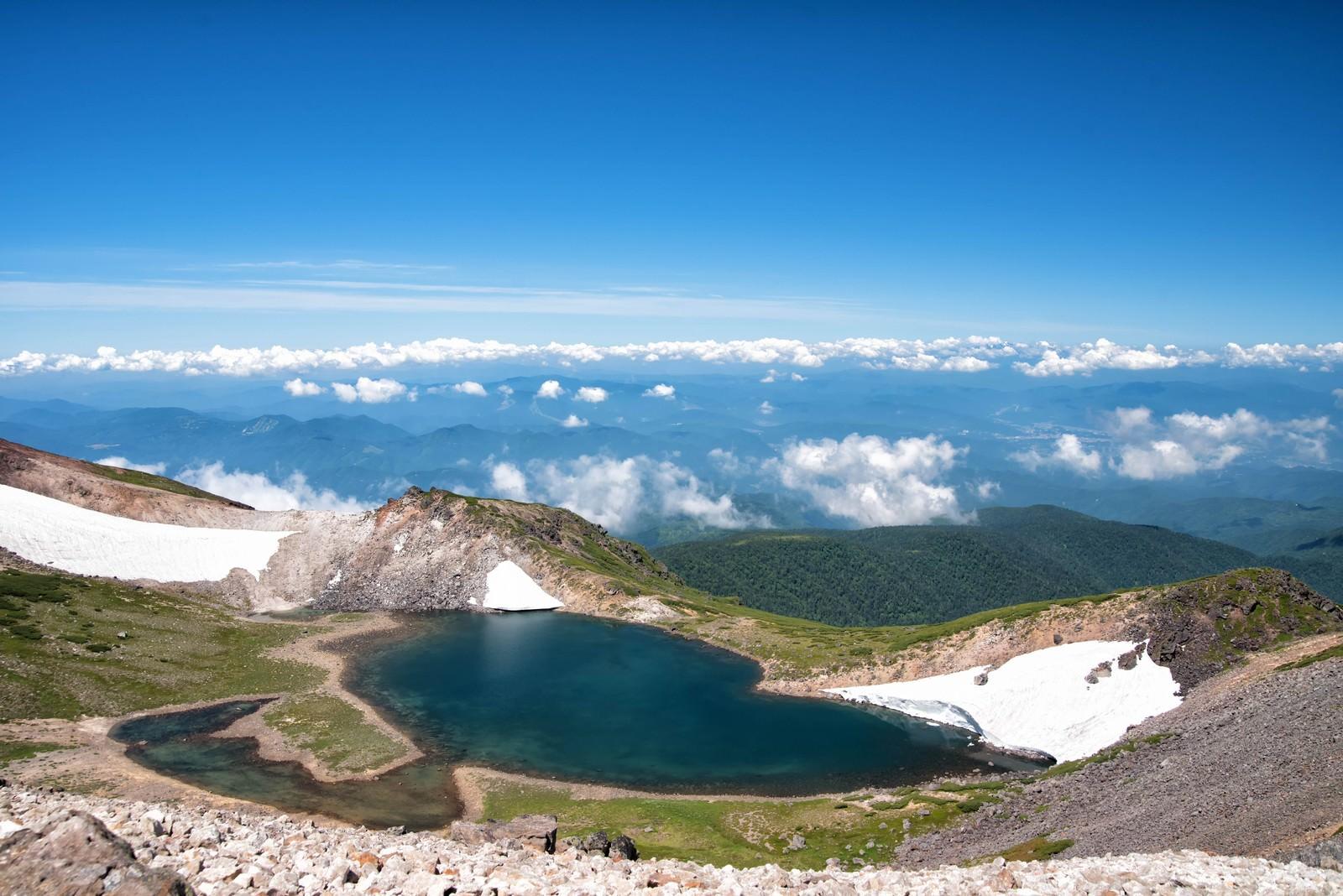 「権現池から望む大パノラマ」の写真