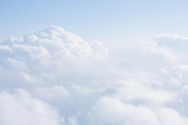 雲の様子の写真