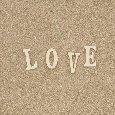 「「LOVE」の文字」の写真素材