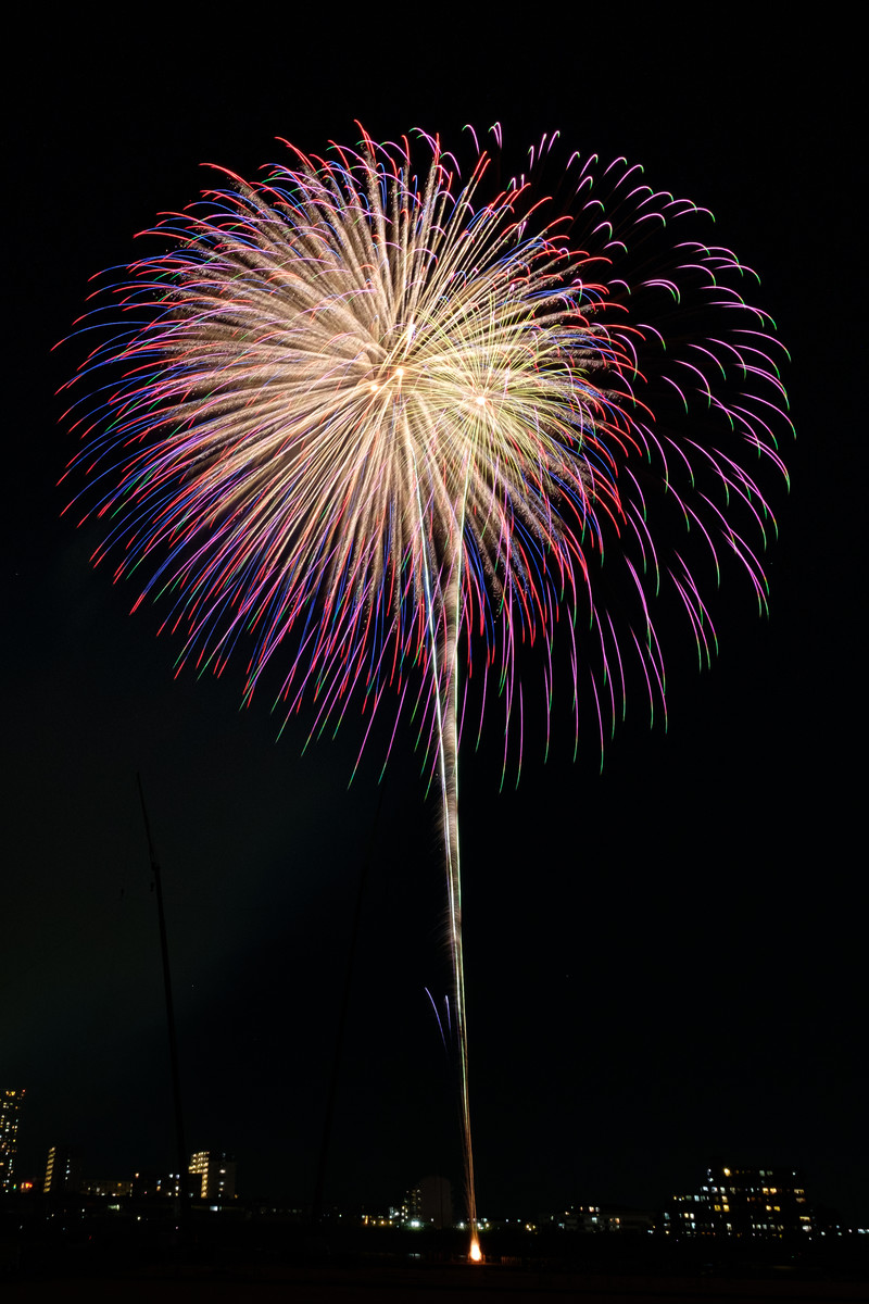 「夏の打上花火」の写真