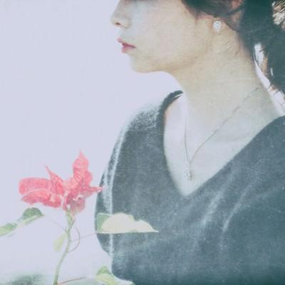 センチメンタルな気分(女性)の写真