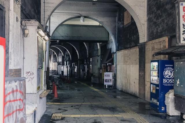 鶴見線の国道駅の写真
