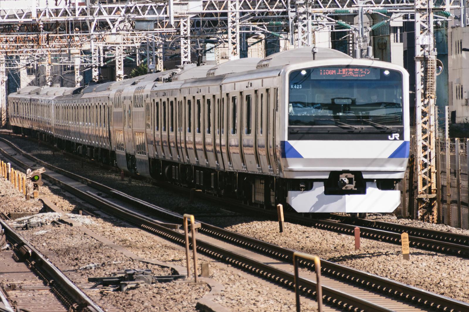「上野東京ライン」の写真