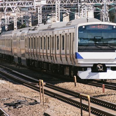 「上野東京ライン」の写真素材
