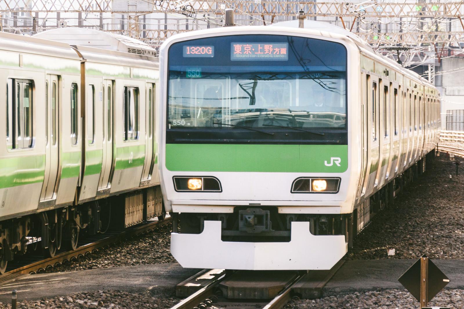 「JR山手線(東京・上野方面)」の写真