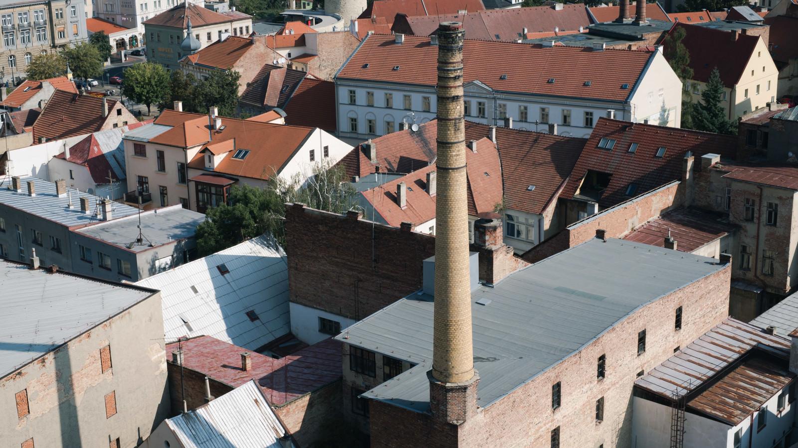 「ホップ関連施設の煙突(ジャテツ)」の写真