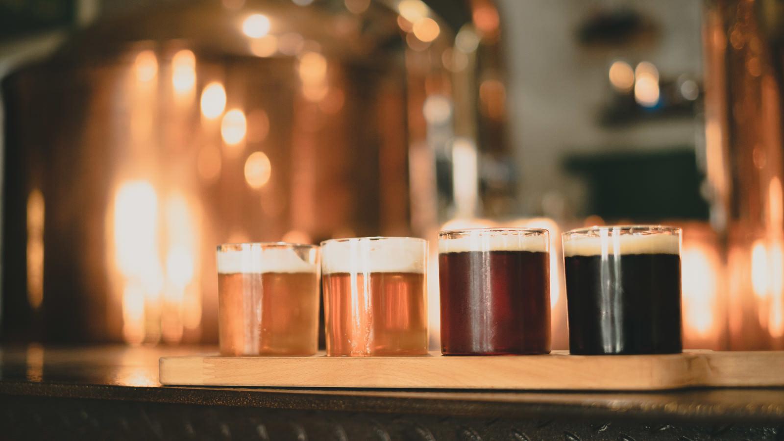 「蔵出しのビール(チェコ共和国)」の写真