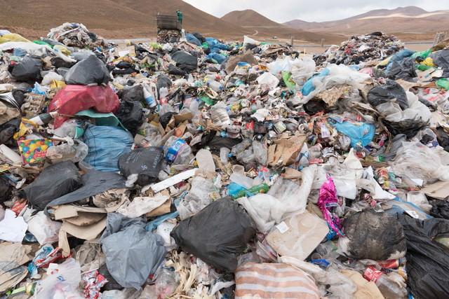 ウユニ市のゴミ事情の写真