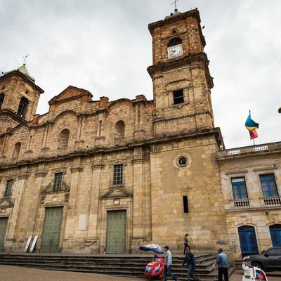 コロンビアにある教会の写真