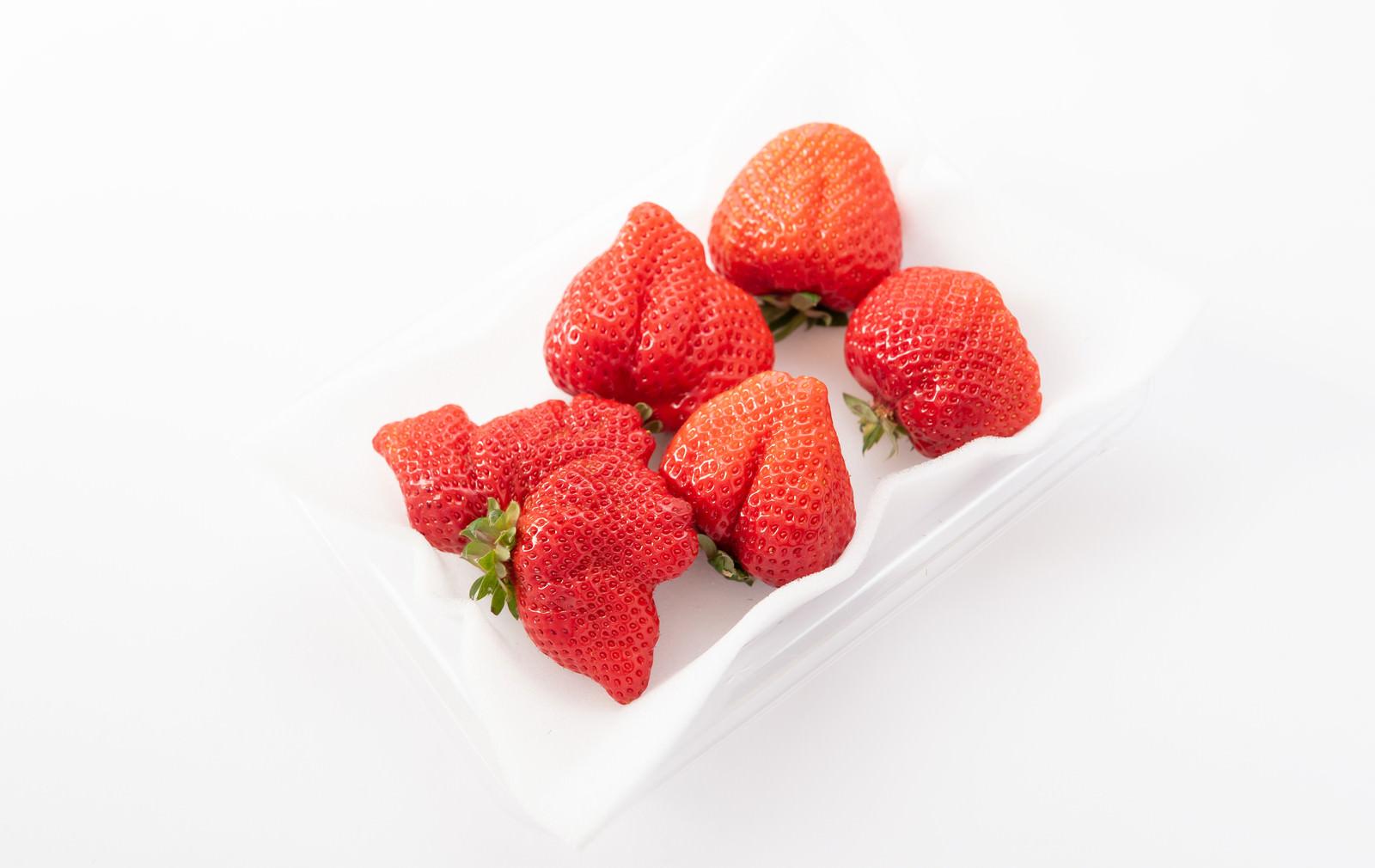 「あまおう(苺)の大玉」の写真