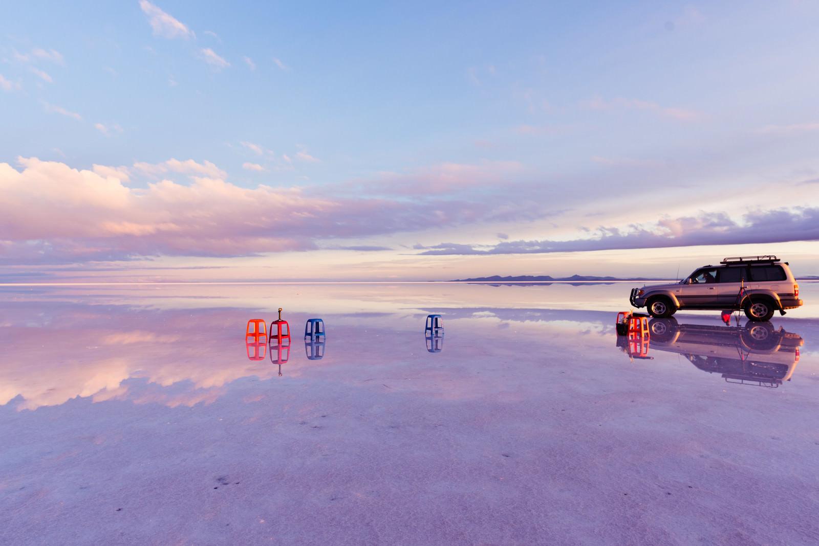 「ウユニ塩湖ツアー」の写真