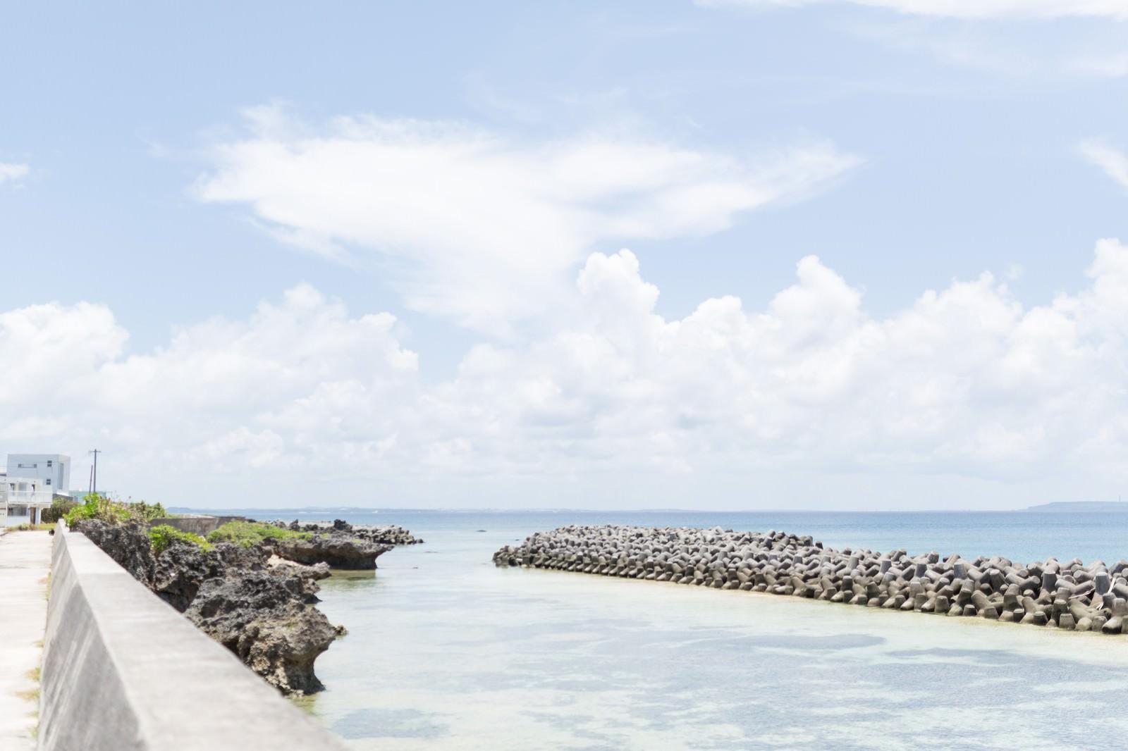 「池間島からの海」の写真