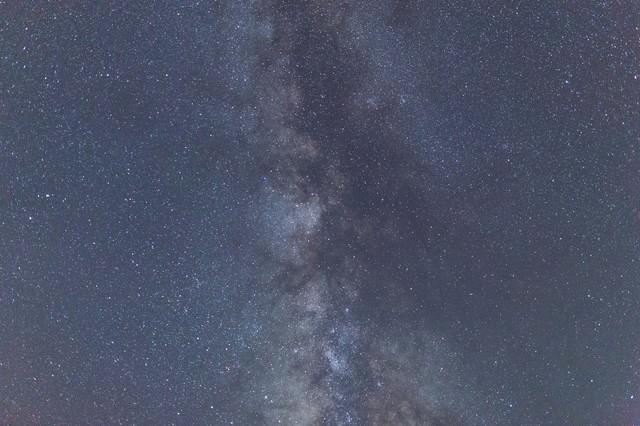天の川の写真