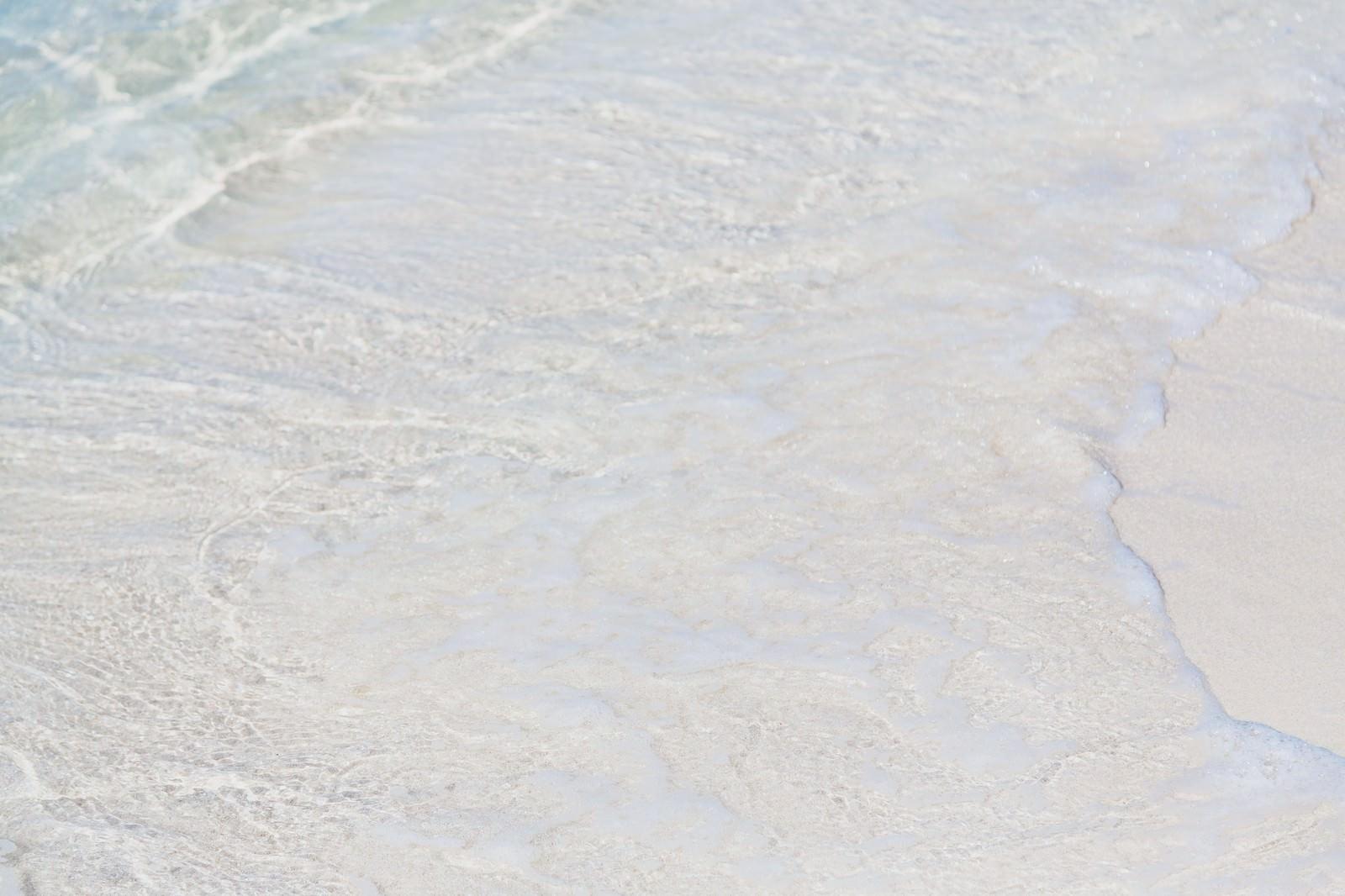 「押し寄せる波」の写真