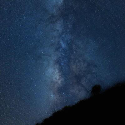 「宮古島から見える美しい天の川」の写真素材