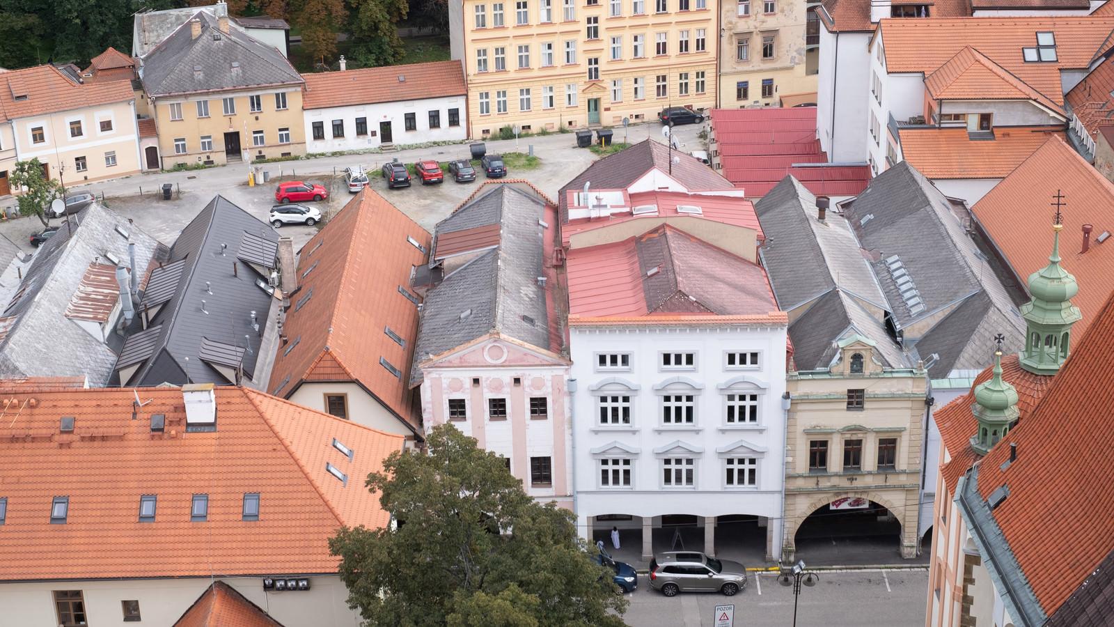 「模型のような建物(チェコ共和国・ブドヴァル)」の写真