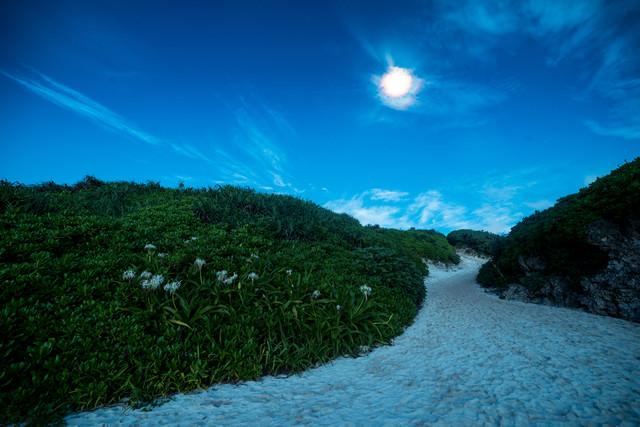 砂山ビーチ(宮古島)の夜景の写真
