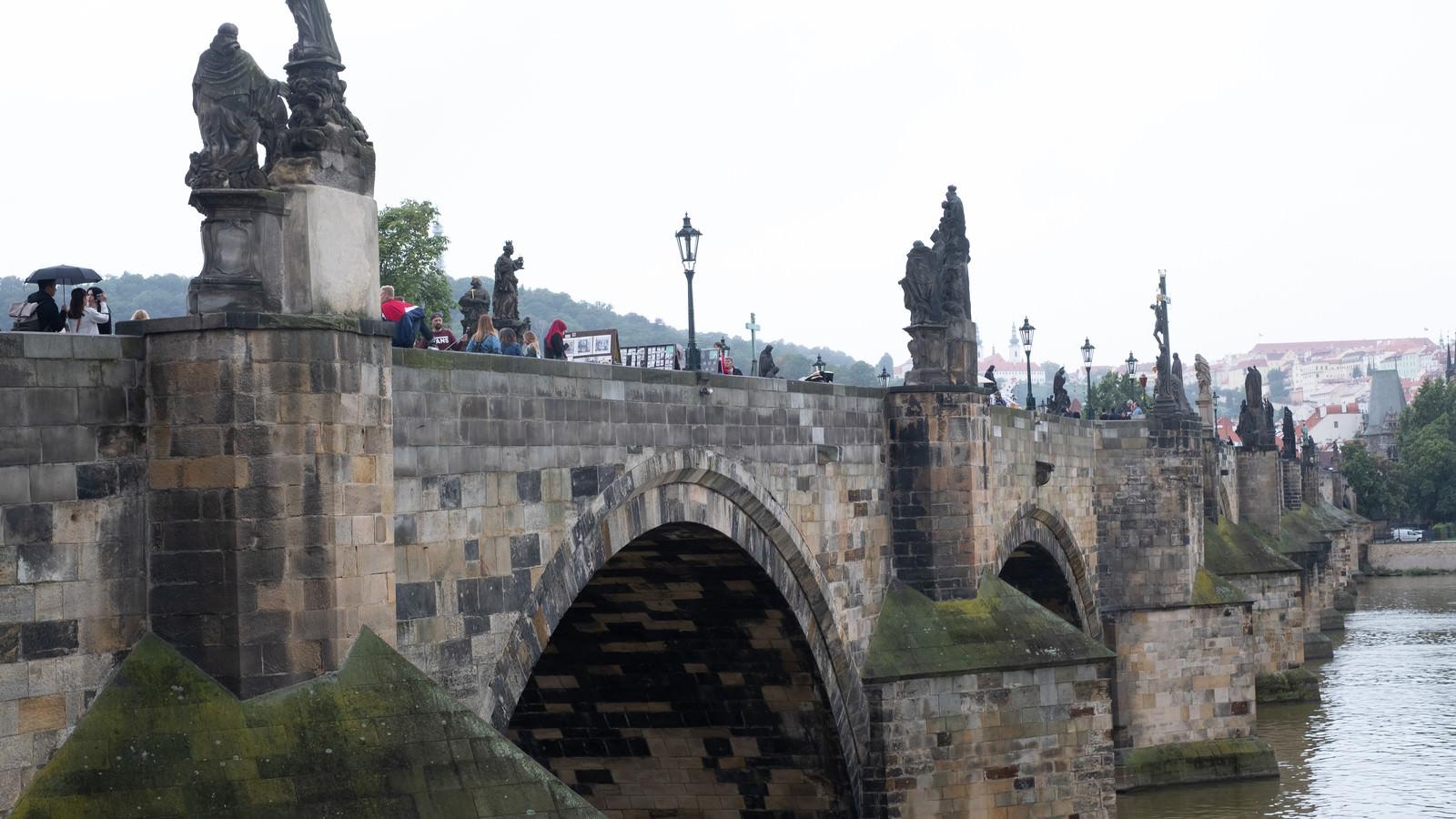 「プラハのカレル橋(チェコ共和国)」の写真