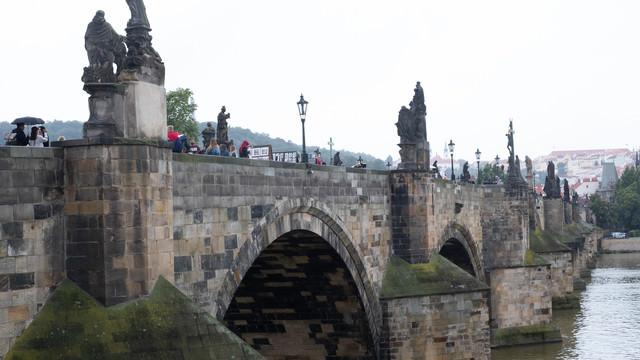 プラハのカレル橋(チェコ共和国)の写真
