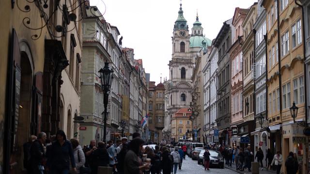 マラーストラナの通り(プラハ)の写真