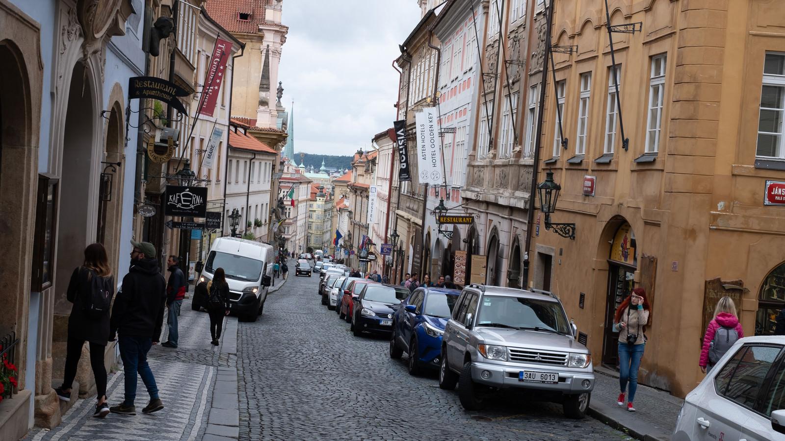 「石畳の車道(チェコ共和国)」の写真
