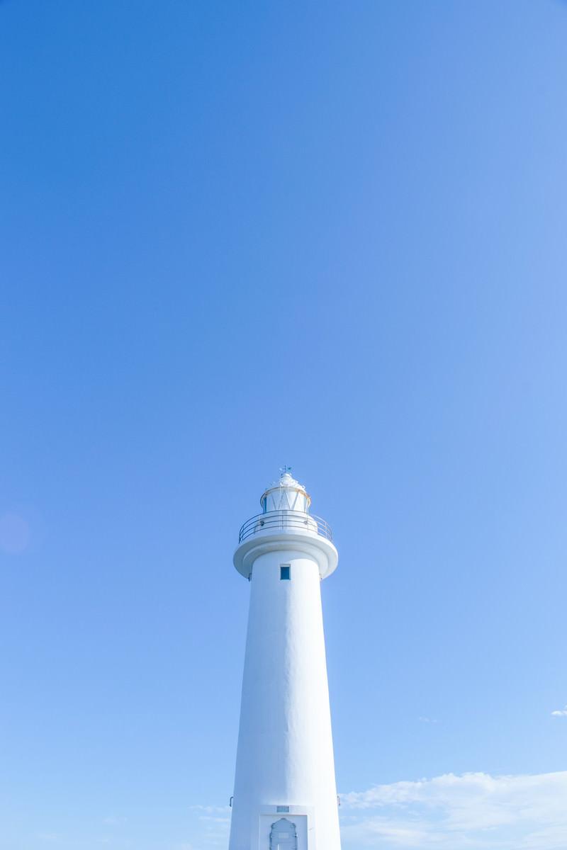 「青空と灯台」の写真
