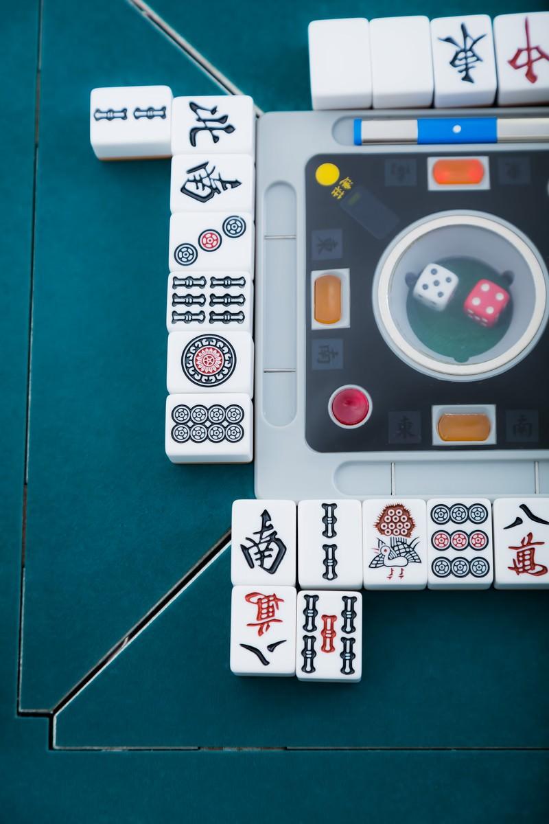 「捨て牌の様子捨て牌の様子」のフリー写真素材を拡大
