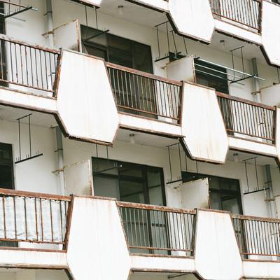 入居者がいないマンションの写真