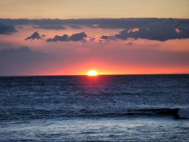 ハワイ島サンセットの写真