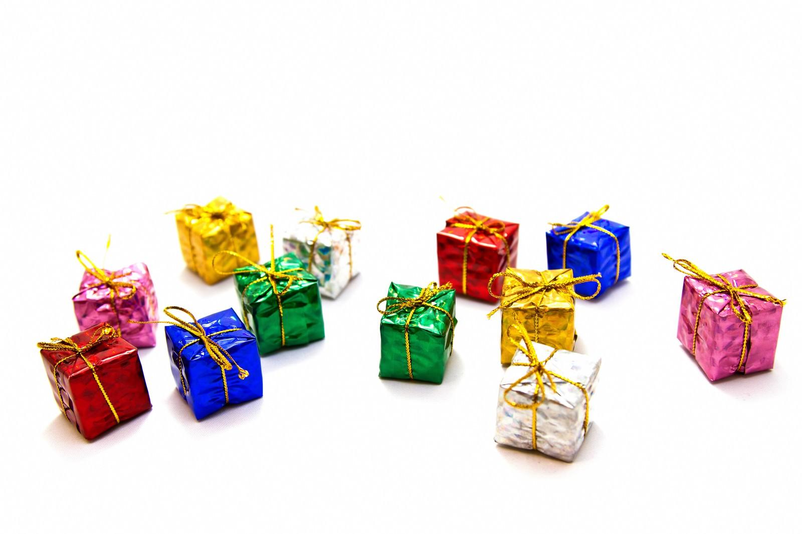 「散らばったプレゼント」の写真