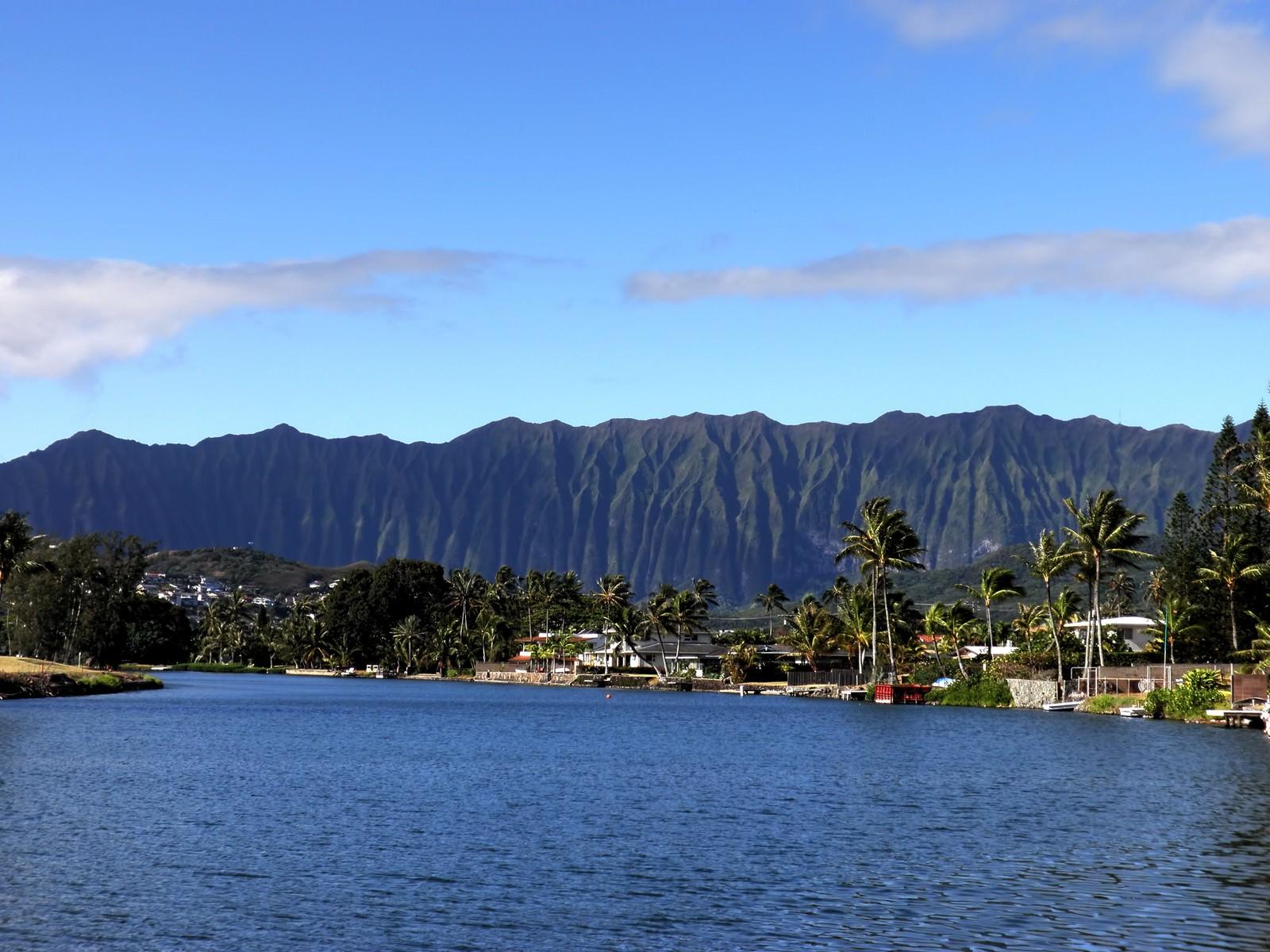「ハワイ山脈ハワイ山脈」のフリー写真素材を拡大