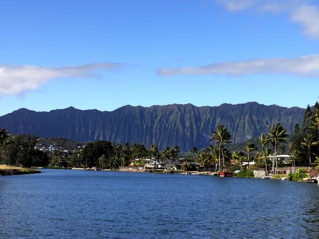ハワイ山脈の写真
