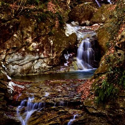 鬼怒川古釜の滝の写真