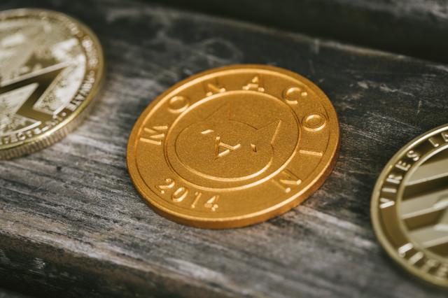 2ちゃんねる発祥の仮想通貨モナコインの写真