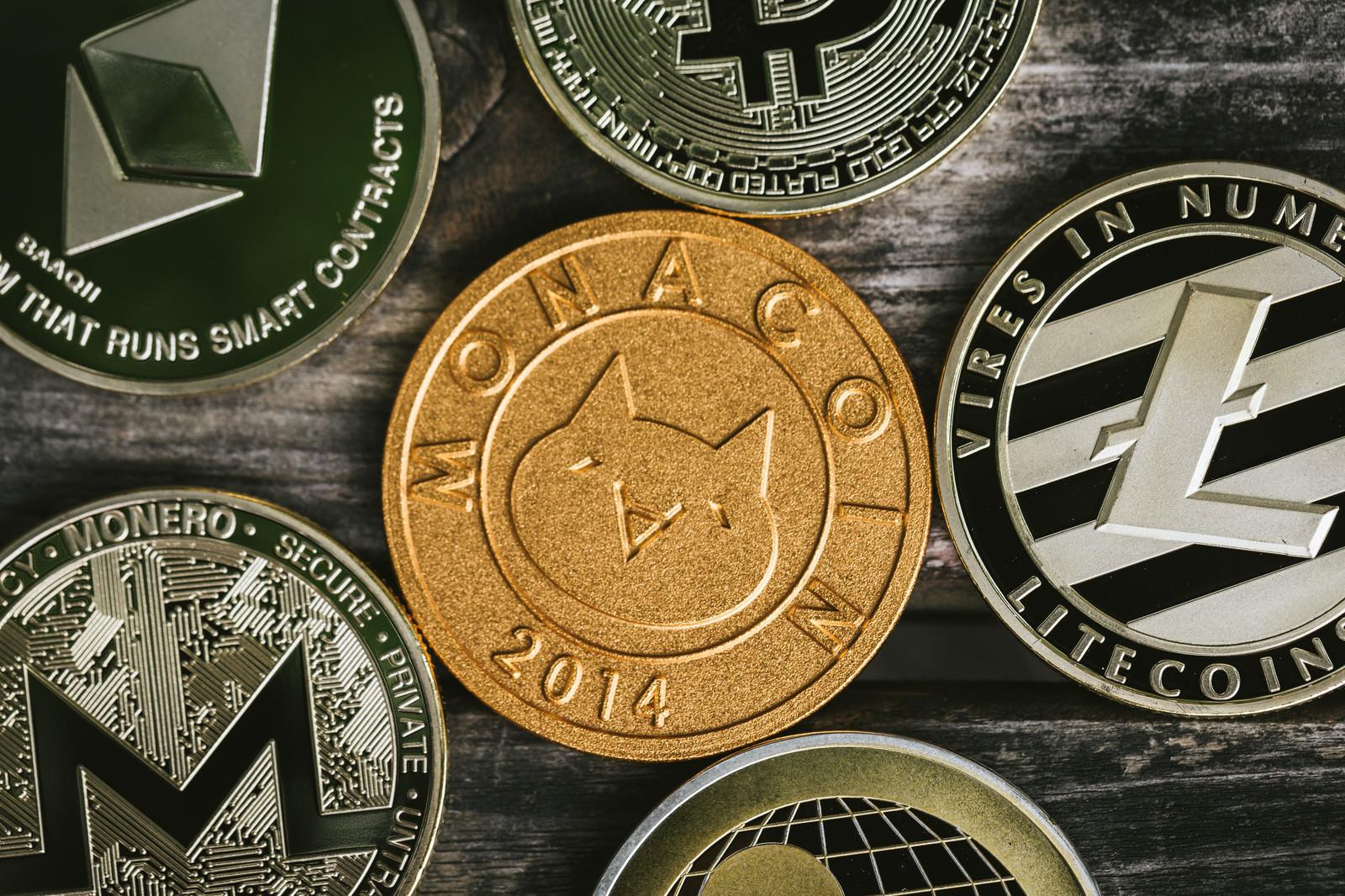 「注目を浴びるモナコイン(MONA)」の写真