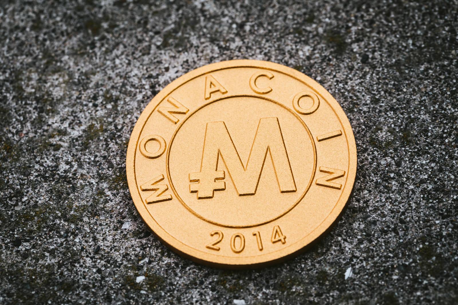「仮想通貨モナコイン」の写真