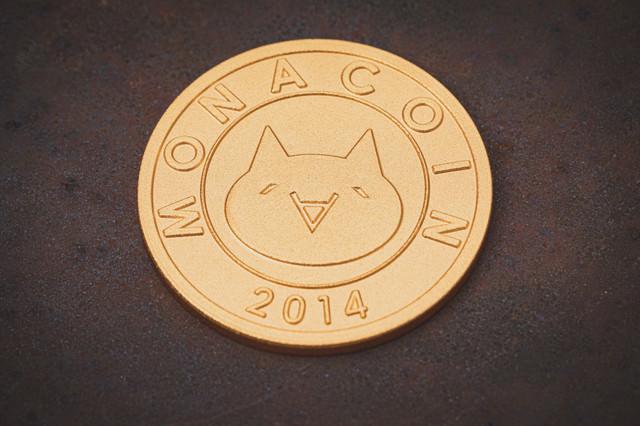 仮想通貨モナコイン(MONA)の写真